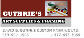 GUTHRIE'S ART SUPPLIES & FRAMING